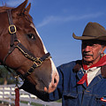 The Marlboro Man In Ocala Florida by Carl Purcell