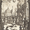 The Martyrdom Of Saint James Major by Jacques Callot