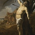The Martyrdom Of Saint Sebastian by David Colijns