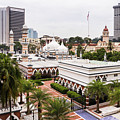 The Masjid Jamek Or Friday Mosque And The Sultan Abdul Samad Buil by Didier Marti