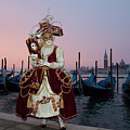 The Masks Of Venice Carnival by Linda D Lester