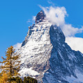 The Matterhorn Mountain by Werner Dieterich