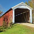 The Mcallister Covered Bridge by Harold Rau