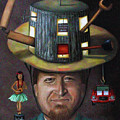 The Mechanic Part Of The Thinking Cap Series by Leah Saulnier The Painting Maniac