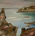 The Mediteranean Coastline by Edward Wolverton