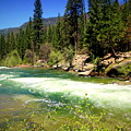 The Merced River In Yosemite by Joyce Dickens