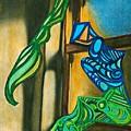 The Mermaid On The Window Sill by Sarah Loft