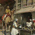 The Metalsmith's Shop  by Edwin Lord Weeks