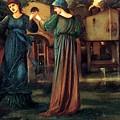 The Mill 1882 by BurneJones Edward