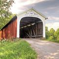 The Mill Creek Covered Bridge by Harold Rau