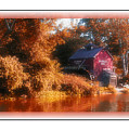 The Mill Greeting Card by Kenneth Krolikowski