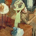 The Millinery Shop by Edgar Degas