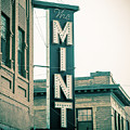 The Mint Classic Neon Sign Livingston Montana by Edward Fielding