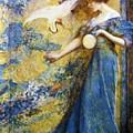 The Mirror 1910 by Reid Robert Lewis