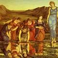 The Mirror Of Venus  by BurneJones Edward