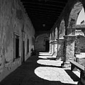 The Mission Arches by Beverlee Singer