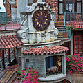 The Mission Inn Clock Tower by Tommy Anderson