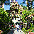 The Mission Inn Stage Coach Entrance by Tommy Anderson