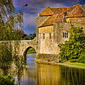 The Moat At Leeds Castle by Chris Lord
