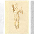 The Modern Age - Triptych - Homage Rodin  by David Hargreaves