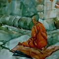 The Monk by Senake Jayasinghe