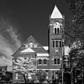 The Monongalia County Courthouse - Morgantown West Virginia by Mountain Dreams