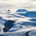 The Monte Rosa Glacier In Switzerland by Werner Dieterich