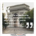 The Moon Shines by Travel Pride