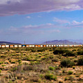 The Morning Train By Route 66 by Bonnie Follett