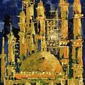 The Mosque-3 by Nizar MacNojia