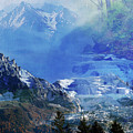 The Mountains Melting Snows by Clive Littin