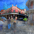 The Muriel's Of Jackson Square  by Larry Braun