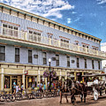 The Murray Hotel At Mackinac Island by Rebecca Snyder