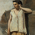 The Muse. History by Jean-Baptiste-Camille Corot