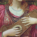 The Music Faintly Falling Dies Away by John Melhuish Strudwick