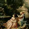 The Music Lesson by Francois Boucher