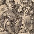 The Musicians by Lucas Van Leyden