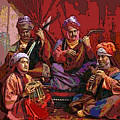 The Musicians Of Hajji Baba by Eikoni Images