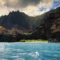 The Napali Coast by T A Davies