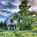 The Nathaniel White Farm House by Rick Kuperberg Sr