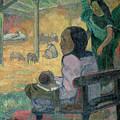The Nativity by Paul Gauguin