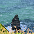 The Needle Off The Cliff's Of Moher In Ireland by DejaVu Designs