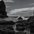 The Needles Black And White by Dale Kauzlaric