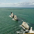 The Needles - Isle Of Wight by Rod Johnson