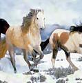 The Nevada Herd by Gabriele Ervin