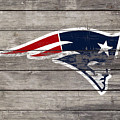 The New England Patriots 3c by Brian Reaves