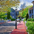 The New England Sidewalk by Kirt Tisdale