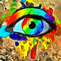 The New Eye Of Horus by Leonardo Digenio