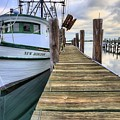 The New Horizon Shrimp Boat by JC Findley