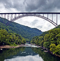 The New River Gorge Bridge In West Virginia by Brendan Reals